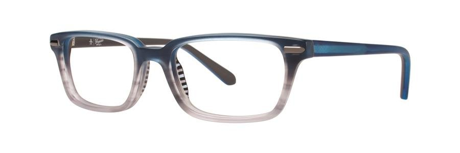 Original Penguin Eye THE BAKER JR Methyl Blue Eyeglasses Size46-16-125.00