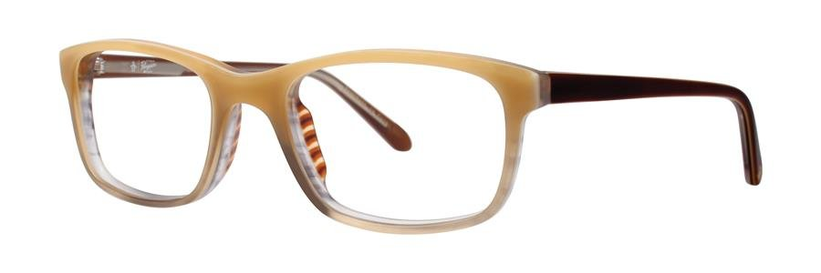 Original Penguin Eye THE CARMICHAEL Pale Khaki Eyeglasses Size52-19-140.00
