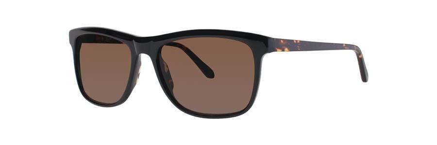 Original Penguin Eye THE FLAT TOP SUN Black Sunglasses Size55-17--17.00