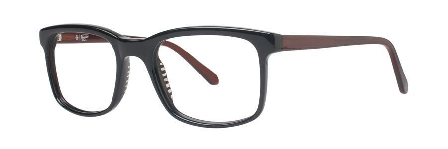 Original Penguin Eye THE HAYES Black Eyeglasses Size50-19-135.00
