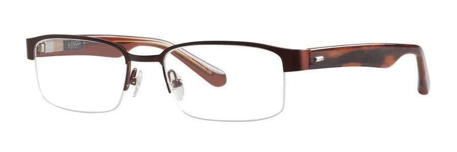 Original Penguin Eye THE JOHNNY Brown Eyeglasses Size53-18-145.00