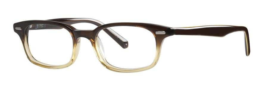 Original Penguin Eye THE LES Brown Eyeglasses Size47-18-145.00