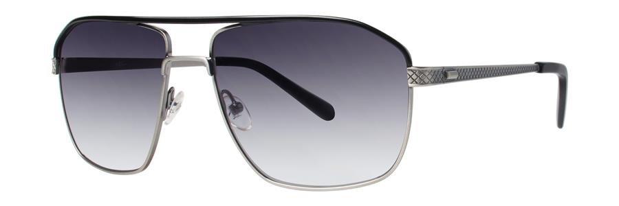 Original Penguin Eye THE OLLIE SUN Black Silver Sunglasses Size57-16-140.00