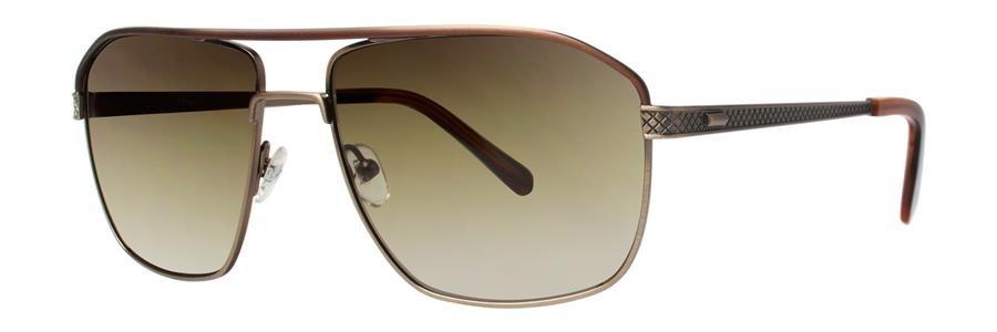 Original Penguin Eye THE OLLIE SUN Brown Gold Sunglasses Size57-16-140.00