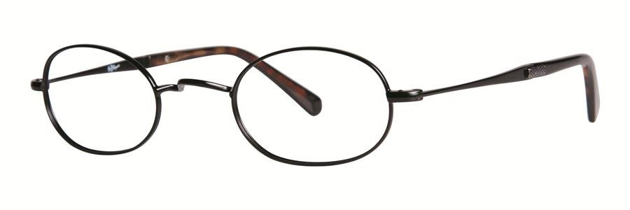Original Penguin Eye THE ROOSEVELT Black Eyeglasses Size45-25-140.00