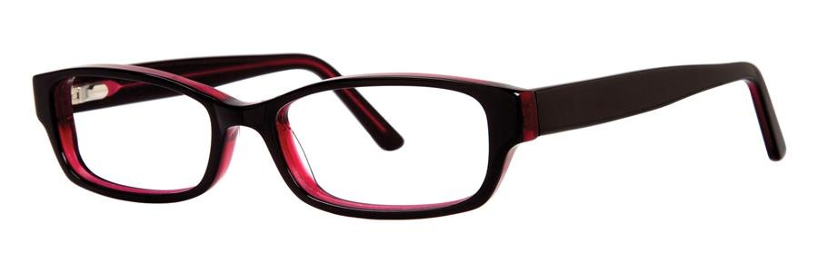 Destiny THEORA Black Raspberry Eyeglasses Size53-16-135.00