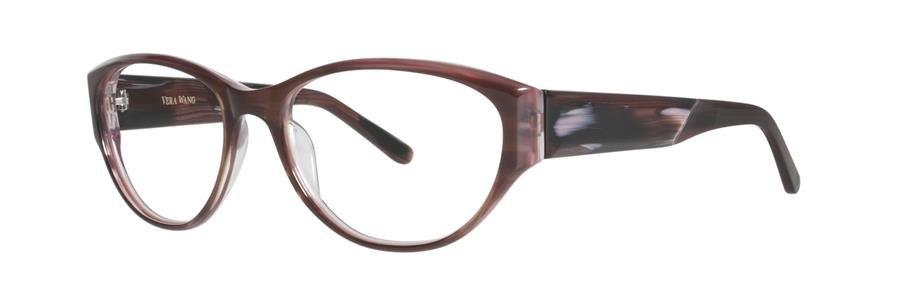 Vera Wang TILDE Burgundy Eyeglasses Size54-17-135.00