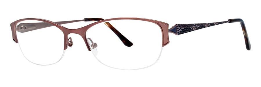 Dana Buchman TILLY Brown Eyeglasses Size52-17-130.00