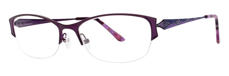 Dana Buchman TILLY Wine Eyeglasses Size52-17-130.00