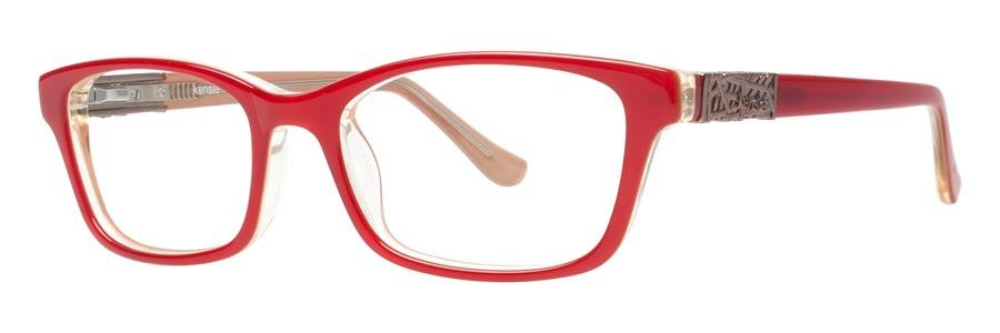 kensie TIMELESS Red Eyeglasses Size50-17-140.00