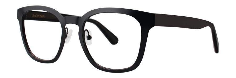 Zac Posen TOMMASO Black Eyeglasses Size49-20-140.00