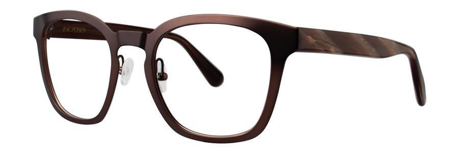 Zac Posen TOMMASO Brown Eyeglasses Size49-20-140.00