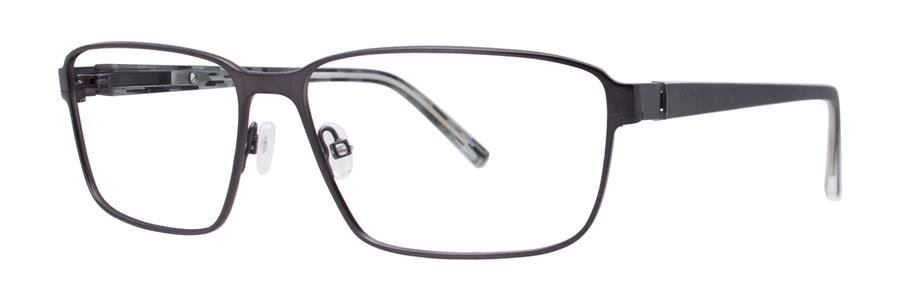 Jhane Barnes TRANSITIVE Gunmetal Eyeglasses Size57-14-143.00