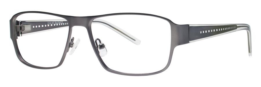 Jhane Barnes TRANSVERSAL Gunmetal Eyeglasses Size55-15-135.00