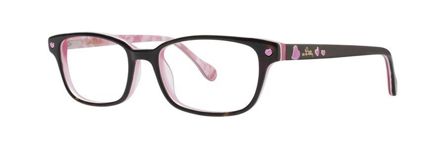 Lilly Pulitzer TRINI Tortoise Eyeglasses Size45-15-125.00