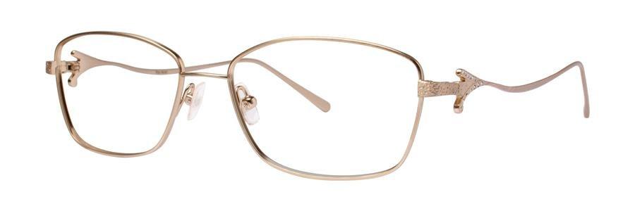 Vera Wang TULLIA Gold Eyeglasses Size52-16-135.00
