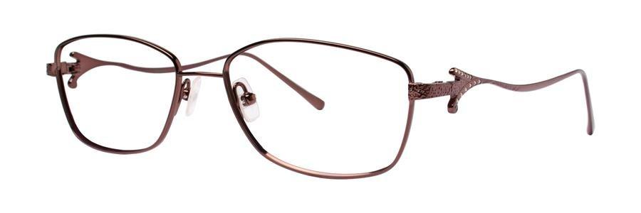 Vera Wang TULLIA Pecan Eyeglasses Size54-16-140.00