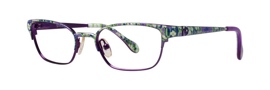 Lilly Pulitzer TULLY Navy Eyeglasses Size47-16-125.00