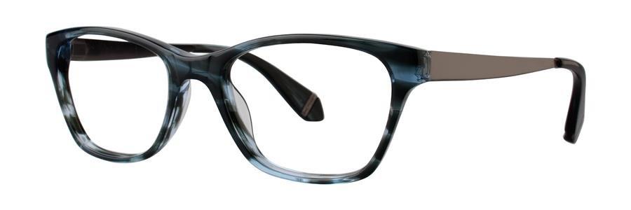Zac Posen URSULA Blue Horn Eyeglasses Size51-17-135.00