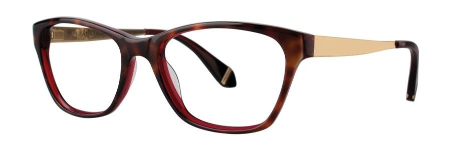 Zac Posen URSULA Tortoise Eyeglasses Size53-17-140.00