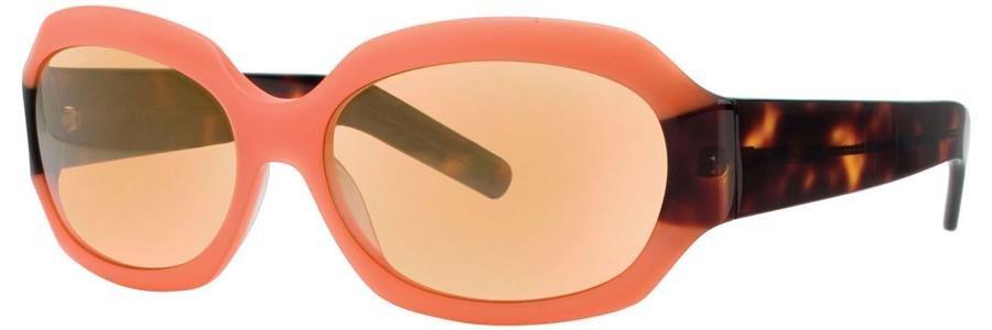 Vera Wang V200 Orange/Tortoise Sunglasses Size56-16-140.00