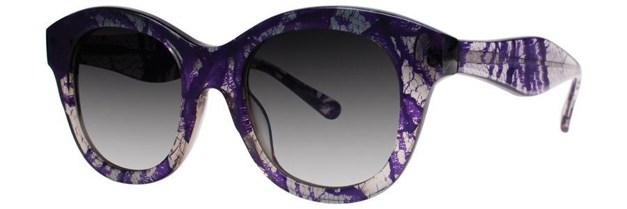 Vera Wang V283 Periwinkle Lace Sunglasses Size49-20-140.00