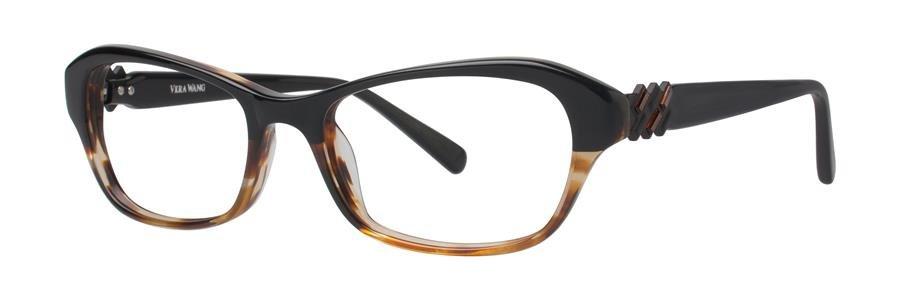 Vera Wang V338 Black Tortoise Sunglasses Size53-17-140.00