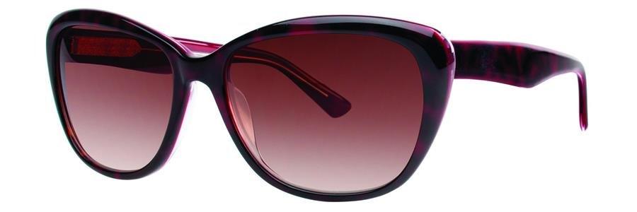 Vera Wang V400 Burgundy Tortoise Sunglasses Size56-16-140.00