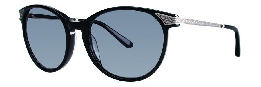 Vera Wang V401 Black Sunglasses Size54-18-130.00
