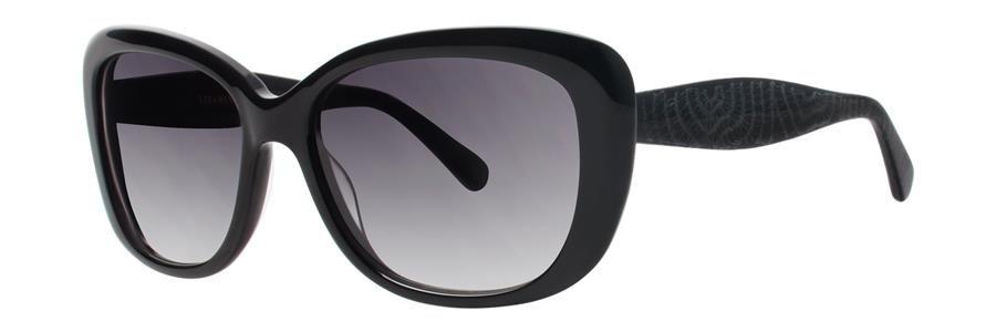 Vera Wang V412 Black Sunglasses Size54-16-130.00