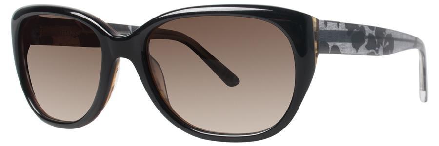 Vera Wang V418 Black Sunglasses Size53-17-135.00
