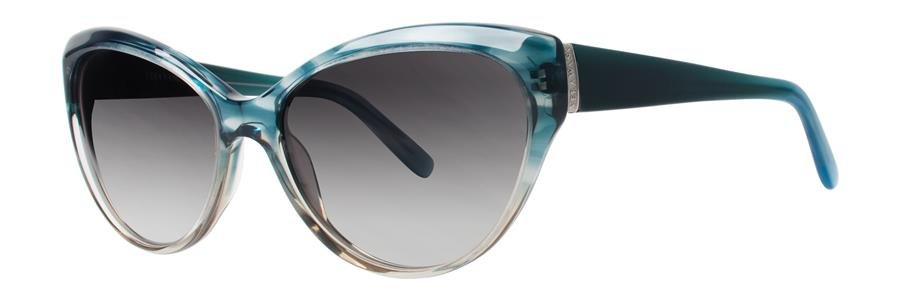 Vera Wang V425 Teal Gradient Sunglasses Size57-17-138.00