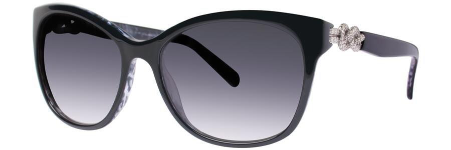 Vera Wang V439 Black Sunglasses Size55-17-135.00