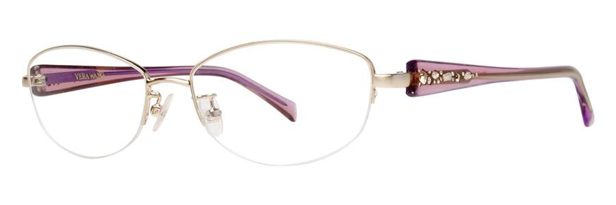 Vera Wang VA02 Gold Eyeglasses Size53-15-138.00
