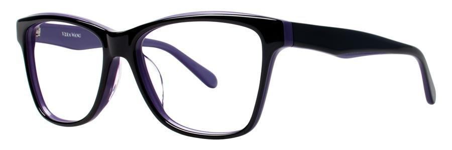 Vera Wang VA04 Black Eyeglasses Size53-15-133.00