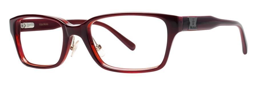 Vera Wang VA07 Burgundy Eyeglasses Size53-17-140.00