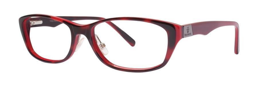 Vera Wang VA09 Scarlet Tortoise Eyeglasses Size53-15-135.00