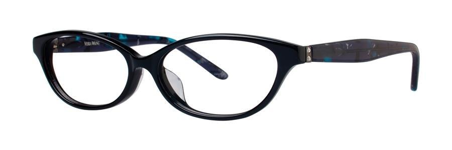 Vera Wang VA11 Black Eyeglasses Size55-14-145.00