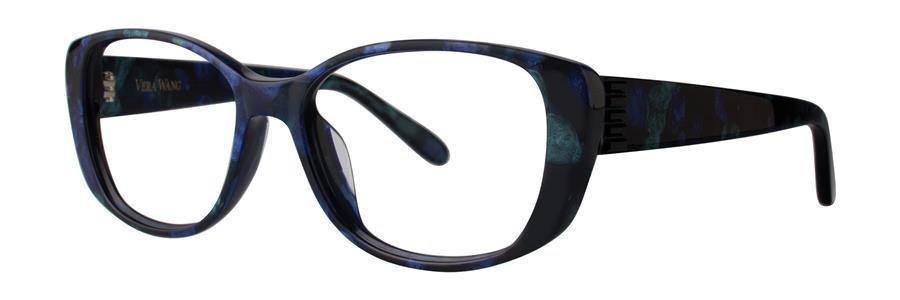 Vera Wang VA15 Midnight Tortoise Eyeglasses Size54-15-140.00