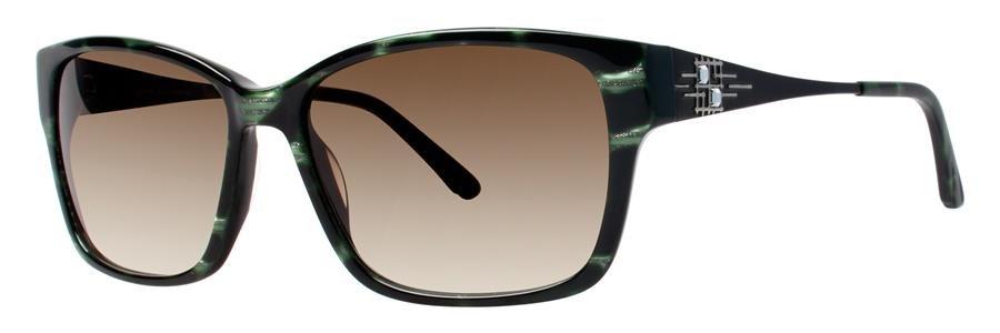 Dana Buchman VALDA Emerald Sunglasses Size56-15-135.00