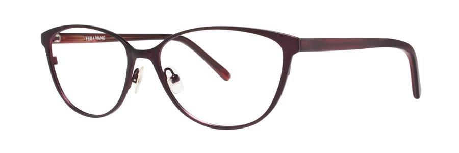 Vera Wang VALERIE Burgundy Eyeglasses Size56-16-133.00