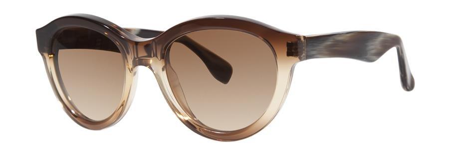 Vera Wang VESPERA Brown Sunglasses Size51-19-135.00