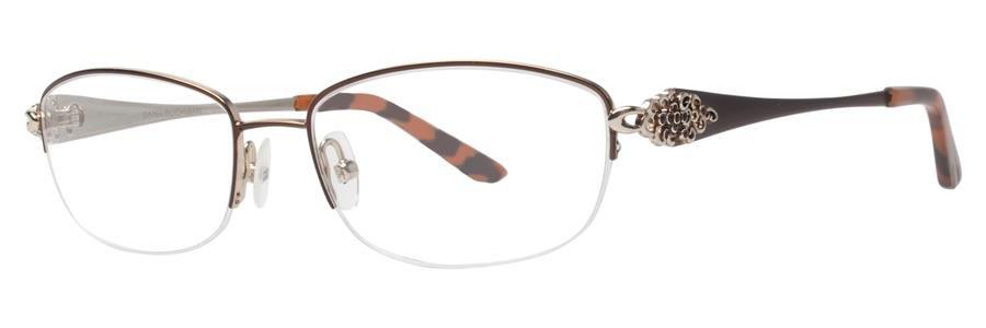 Dana Buchman VESTA Brown Eyeglasses Size53-16-135.00