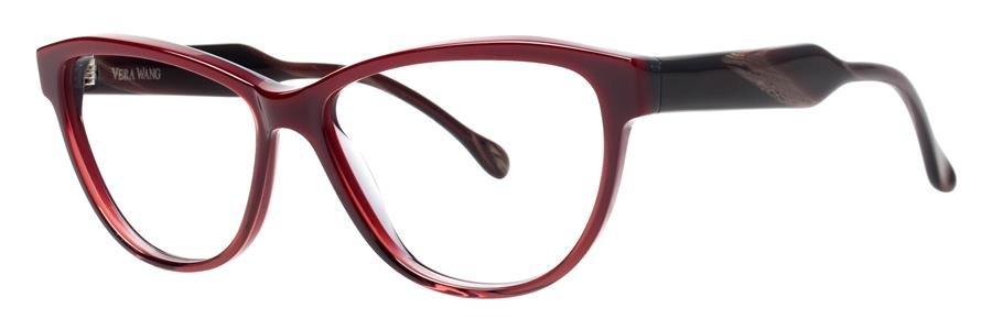 Vera Wang VEVA Burgundy Eyeglasses Size56-13-140.00
