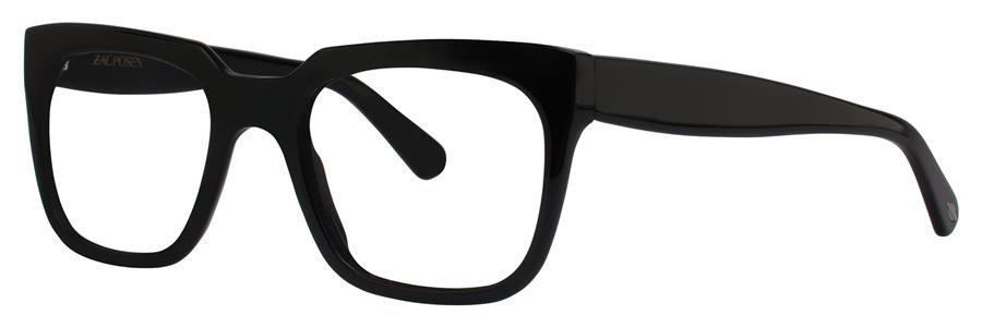 Zac Posen VICTOR Black Eyeglasses Size49-20-140.00