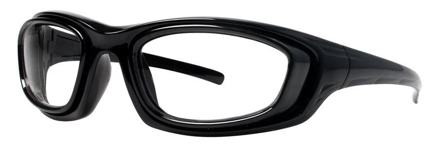 Wolverine W033 Black Crystal Eyeglasses Size52-16-124.00