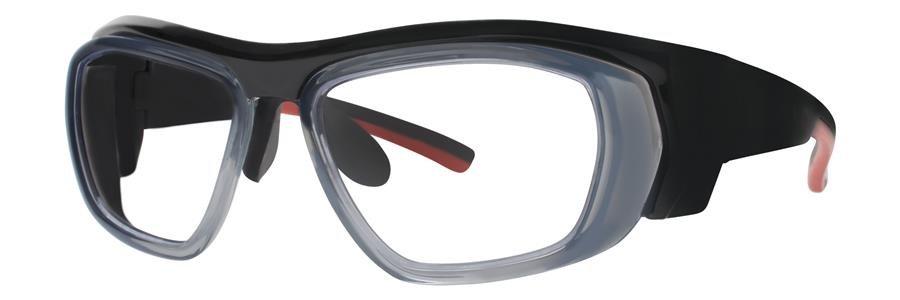 Wolverine W035 Black Crystal Eyeglasses Size52-12-115.00