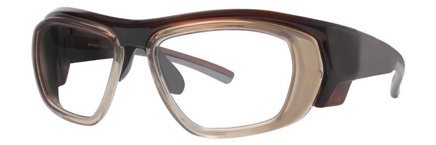 Wolverine W035 Brown Crystal Eyeglasses Size52-12-115.00