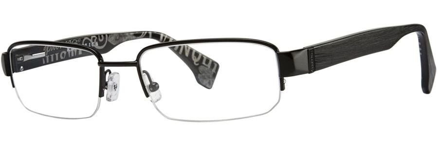Republica WARSAW Black Eyeglasses Size55-18-140.00