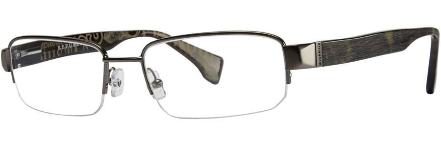 Republica WARSAW Gunmetal Eyeglasses Size53-18-135.00